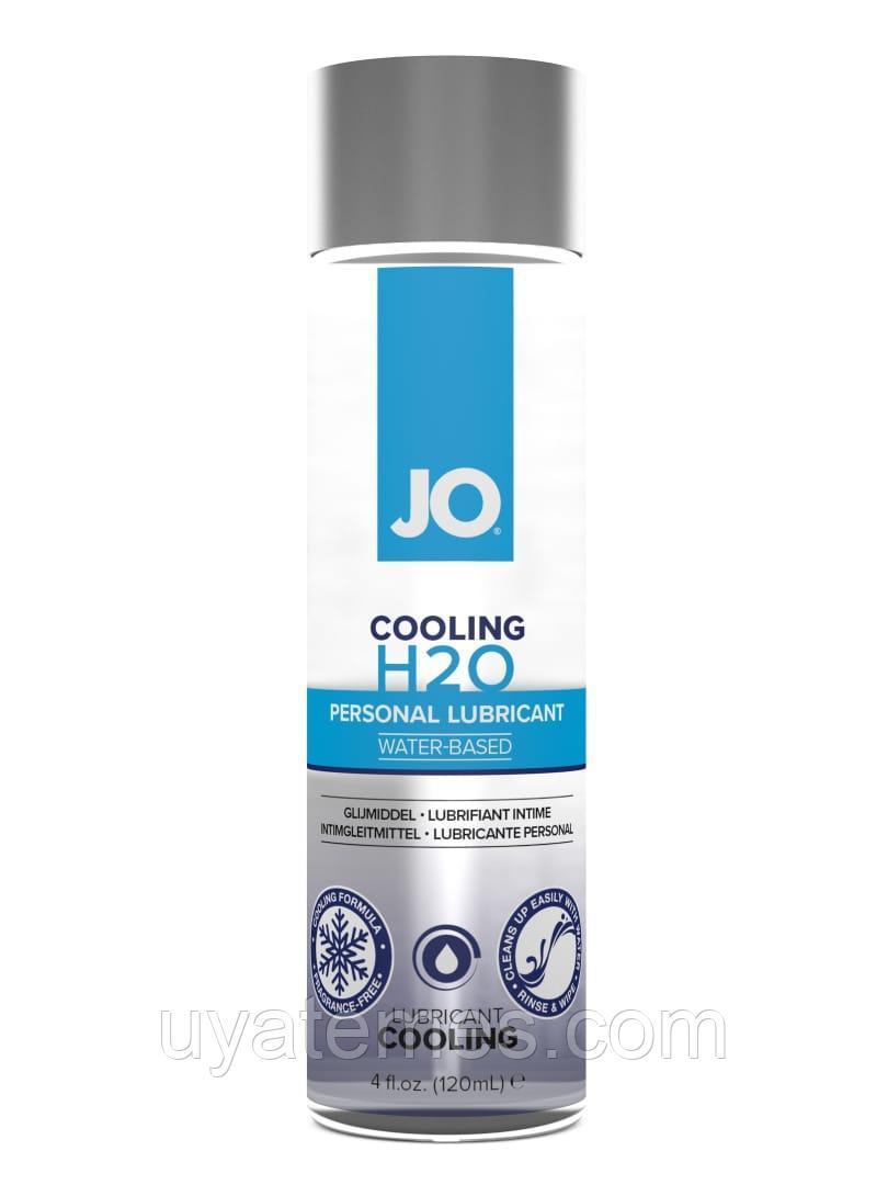 Классический охлаждающий лубрикант на водной основе / JO H2O Cooling 4 oz - 120мл
