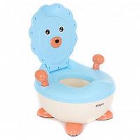 PITUSO Детский горшок ЛЬВЕНОК Голубой BLUE 37*36*24,5 см