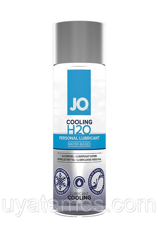 Классический охлаждающий лубрикант на водной основе / JO H2O Cooling 2oz - 60 мл