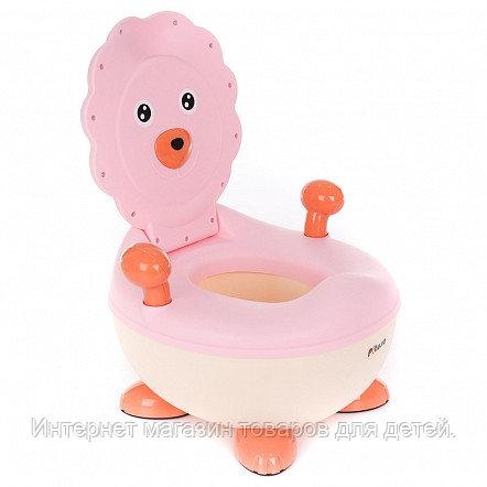 PITUSO Детский горшок ЛЬВЕНОК Розовый PINK 37*36*24,5 см