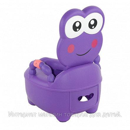 PITUSO Детский горшок ЛЯГУШОНОК Фиолетовый PURPLE 36,5*31,5*46 см