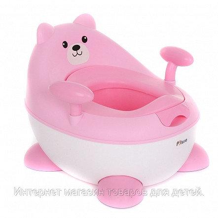 PITUSO Детский горшок МИШУТКА Розовый PINK 34*35,5*29 см