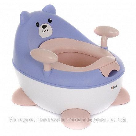 PITUSO Детский горшок МИШУТКА Голубой BLUE 34*35,5*29 см