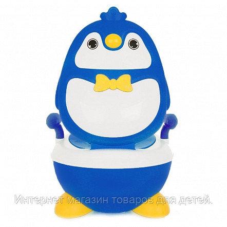 PITUSO Детский горшок ПИНГВИНЕНОК Голубой BLUE 36*34.5*48.5 см