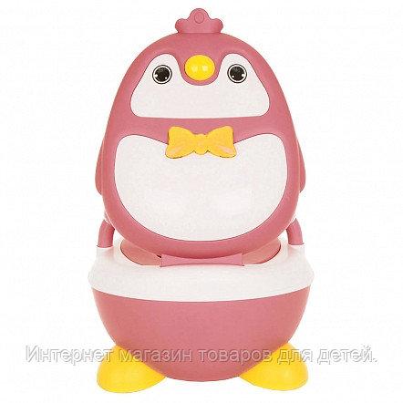 PITUSO Детский горшок ПИНГВИНЕНОК Розовый PINK 36*34.5*48.5 см
