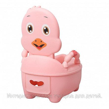 PITUSO Детский горшок ЦЫПЛЕНОК Розовый PINK 36,5*31,5*46 см