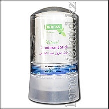 """Дезодорант-карандаш из калиевых квасцов Ikhlas (""""кристалл"""", Алунит), 60 г."""