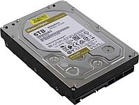 Жесткий диск HDD 6Tb Western Digital GOLD WD6003FRYZ