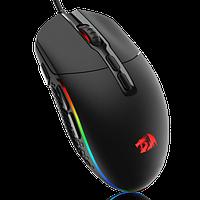 Мышь проводная Redragon Invader RGB (черный)