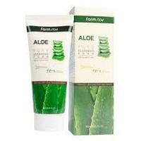 Пенка очищающая для всех типов кожи FarmStay ALOE 180 мл KOREA