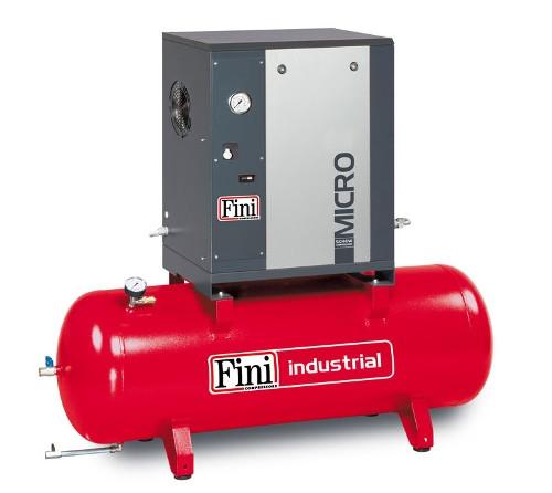 Винтовой компрессор FINI MICRO 5.5-10-500 (на ресивере)