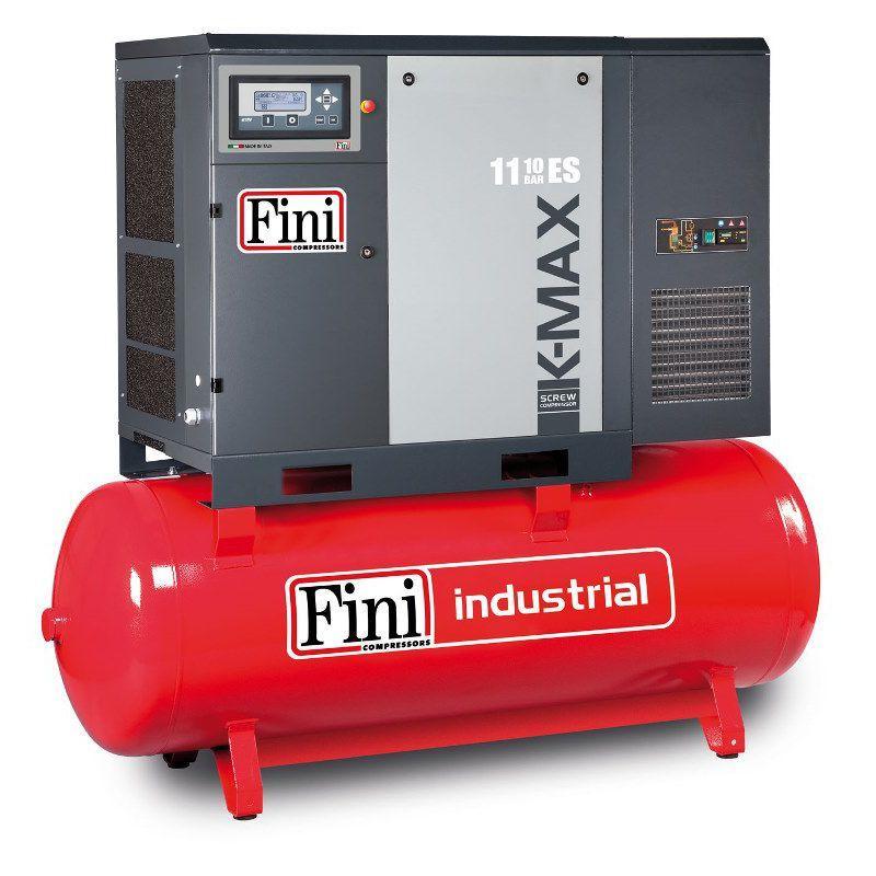 Винтовой компрессор FINI K-MAX 1110-500F-ES (на ресивере с осушителем)