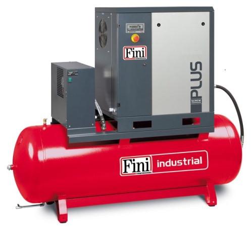 Винтовой компрессор FINI PLUS 11-13-500 ES (на ресивере с осушителем)
