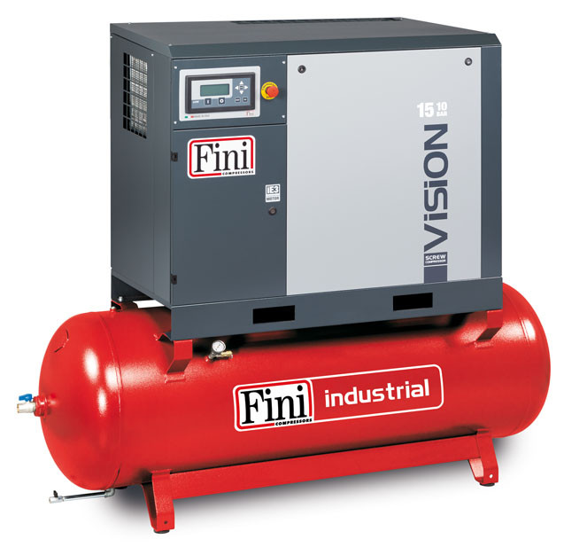Винтовой компрессор FINI VISION 1108-500F ES (на ресивере с осушителем)