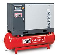Винтовой компрессор FINI VISION 18.5-13-500F ES (на ресивере с осушителем)