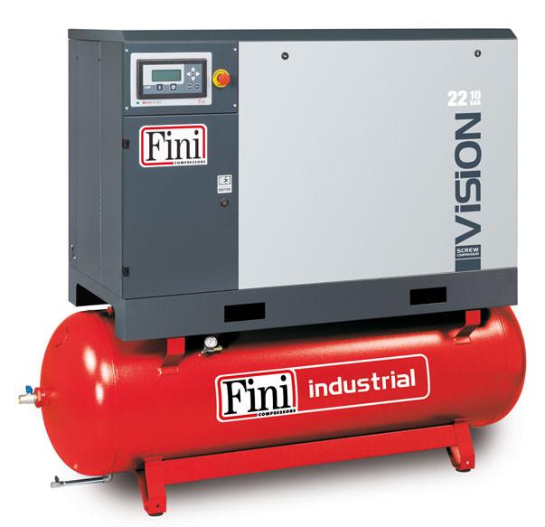 Винтовой компрессор FINI VISION 2208-500F ES (на ресивере с осушителем)