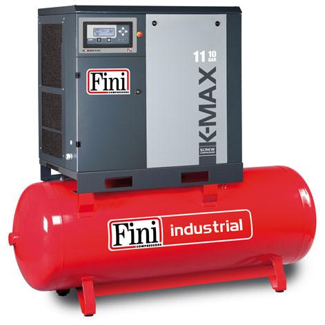 Винтовой компрессор FINI K-MAX 1110-500F VS (на ресивере с частотником)