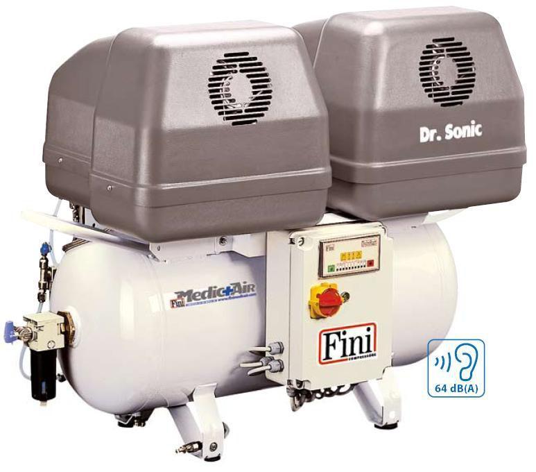 Безмасляный компрессор FINI DR.SONIC 640-90F-ES-6T (медицинский)