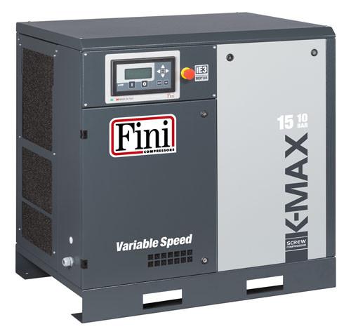 Винтовой компрессор FINI K-MAX 1510 VS (без ресивера с частотником)