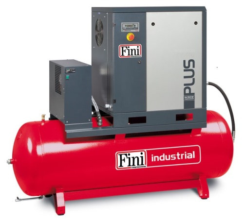 Винтовой компрессор FINI PLUS 15-10-500 ES (на ресивере с осушителем)