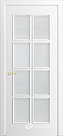 Межкомнатная дверь АВРОРА ПО Белая
