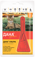 Дана Ультра (для кошек и котят до 4 кг) 1*0,32 мл