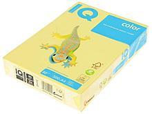 Бумага цветная IQ Color, А4, 80 г/кв.м., 500 л., желтый YE23