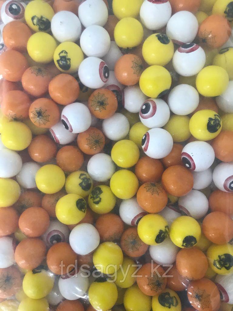 """Жев. резинка  """"Хэллоуин""""  22 мм (286шт) ZED Candy"""