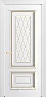 Межкомнатная дверь ВИОЛЕТТА ВИОЛЕТТА Д ПГ Эмаль белая серая