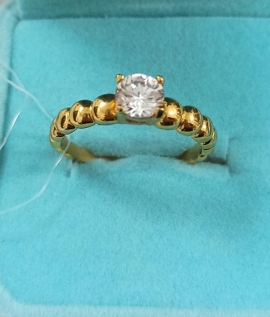 Кольцо  Бижутерия Размер кольца 19.