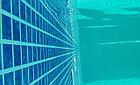 Блочный  пленочный бассейн 20х10х1.6м, фото 8