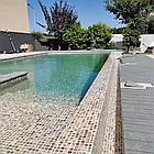 Блочный  пленочный бассейн 20х10х1.6м, фото 9