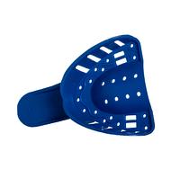 Ложка (лотки) слепочная пластик.перф N1 верх (12шт) (5) 1А5904