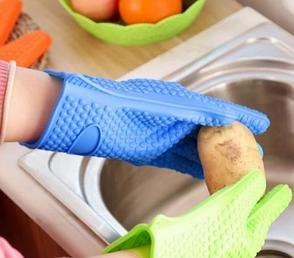 Перчатка кухонная силиконовая День Матери!, фото 2