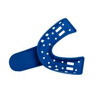 Ложка (лотки) слепочная пластик.перф N1 низ (12шт) (6) 1А5905
