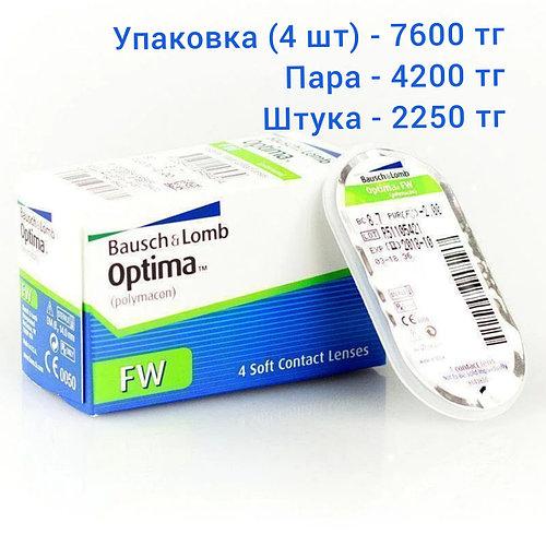 Контактная линза -4,00 Optima FW Baush&Lomb, цена за 1 шт