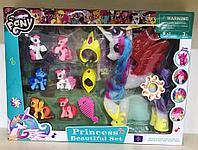 Пони Моя маленькая Пони с набором аксессуаров 6 маленьких световая и музыкальная