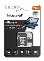 Карта памяти Integral INMSDX256G-100/90V30 256GB + адаптер