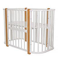 Кровать детская Asti Белый-бук (Pituso, Россия-Испания)