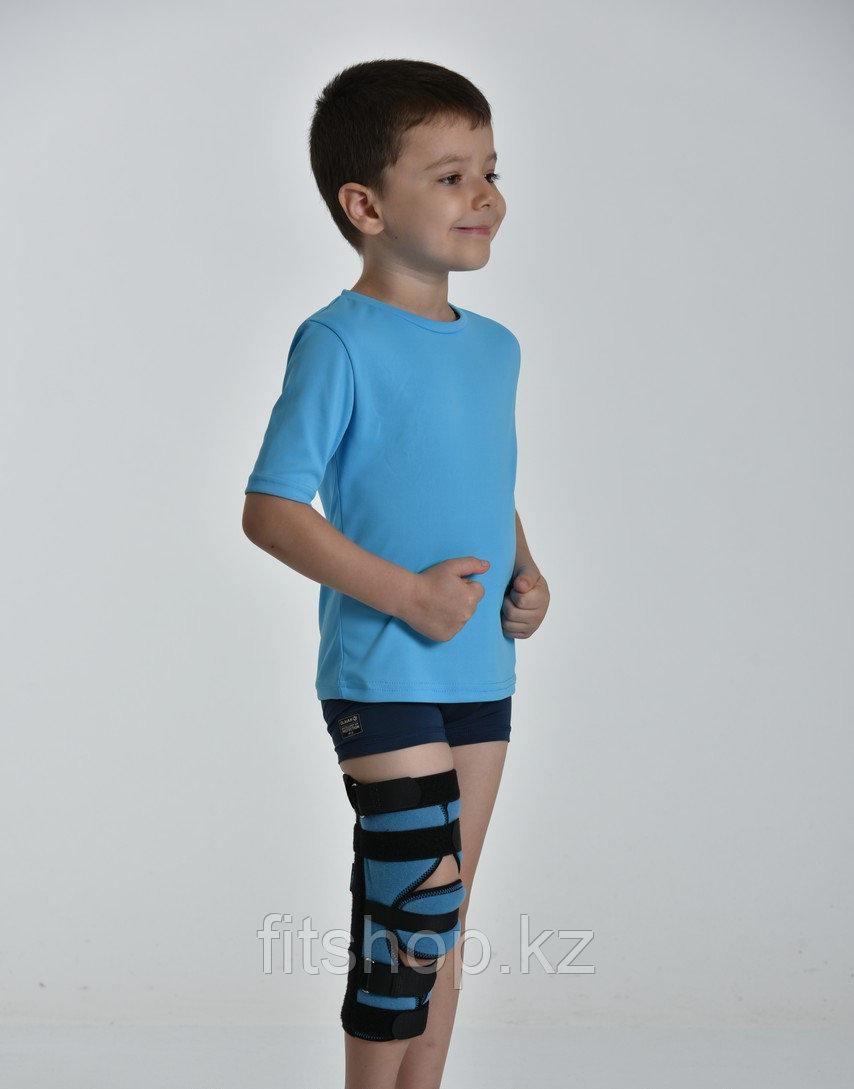 Детский иммобилизирующий ортез на коленный сустав (тутор)