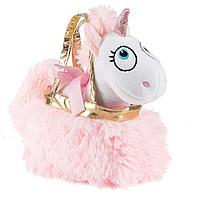 Мягкая игрушка Единорог в сумочке-переноске Fancy