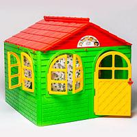 Детский игровой домик Doloni средний, цвет зеленый
