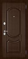 Входная дверь STANDART 70 Лиственница, Шоколад