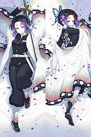 Дакимакура Шинобу Кочо - Клинок, рассекающий демонов (наволочка на подушку)