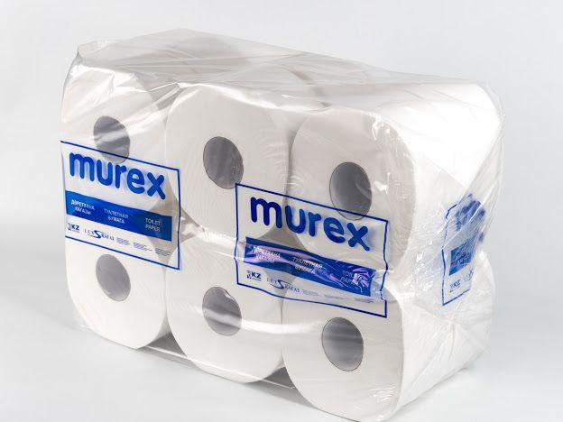 Туалетная бумага Jumbo MUREX 150м, высококачественная, двухслойная