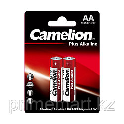 Батарейка CAMELION Plus Alkaline LR6-BP2 2 шт. в блистере