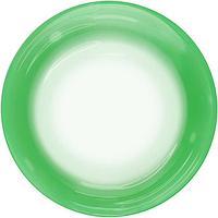 Шар полимерный 18'' сфера 3D, Deco Bubble 'Зеленый спектр' прозрачный, 1 шт.