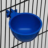 Миска для грызунов и птиц, 30 мл, синяя