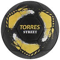 Мяч футбольный TORRES Street, размер 5, 32 панели, резина, 4 подкладочных слоя, ручная сшивка, цвет