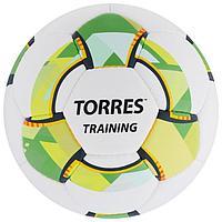 Мяч футбольный TORRES Training, размер 4, 32 панели, PU, 4 подкладочных слоя, ручная сшивка, цвет